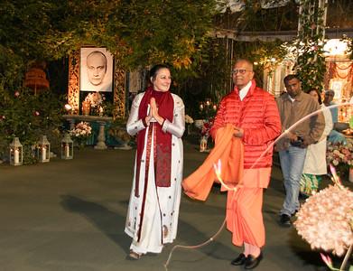 Swami Chetanananda's Visit