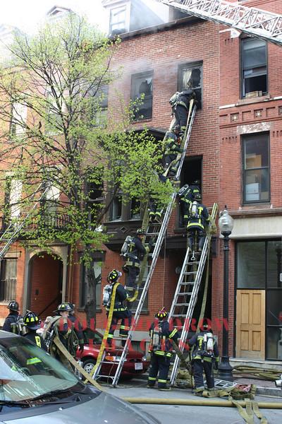 Boston, MA - 2nd Alarm, 75 West Brookline Street, 5-2-05