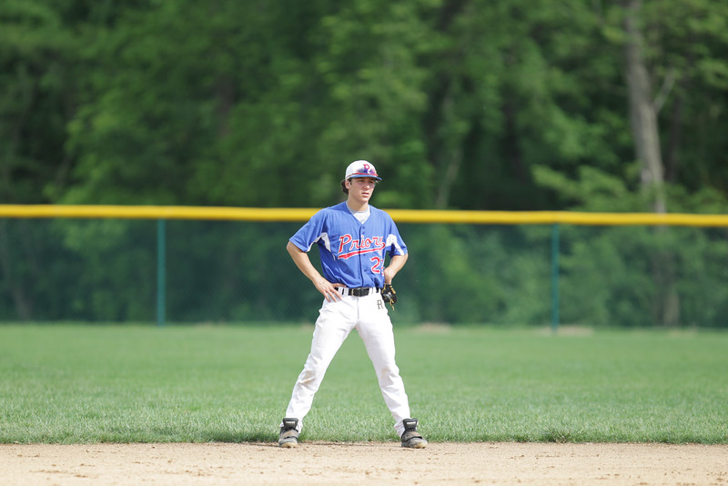 Priory Varsity Baseball - May 10, 2016