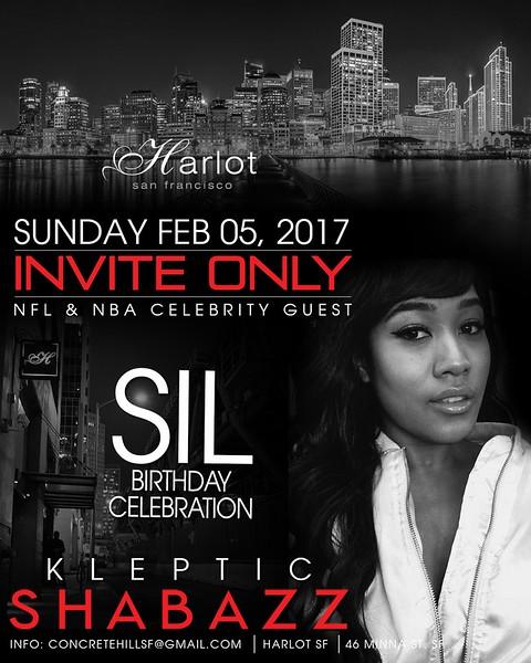 HarlotSF Presents #InviteOnly 2.5.17