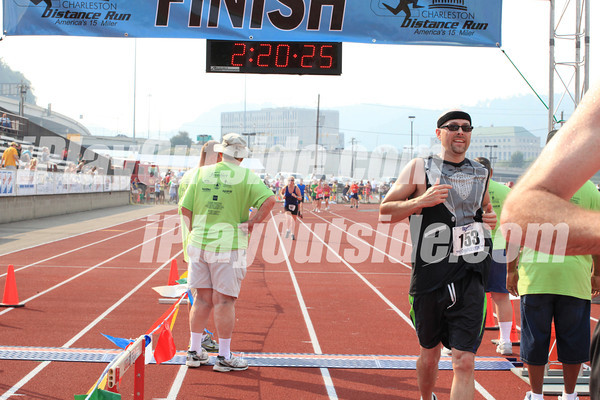 FINISH - 15 Mile CDR - Times 2:20:25 thru 3:38:14