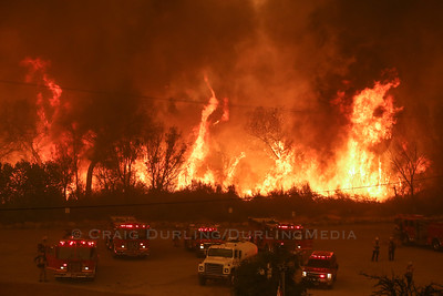 Sand Fire - LACoFD/ANF Brush Fire - July 2016
