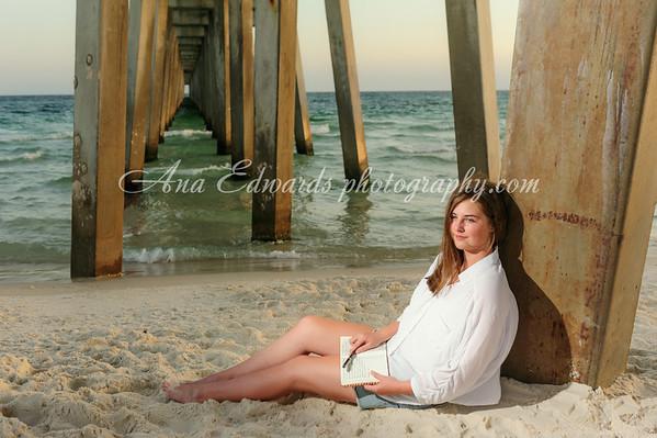 Katelyn.  2015 Senior  |  Panama City Beach