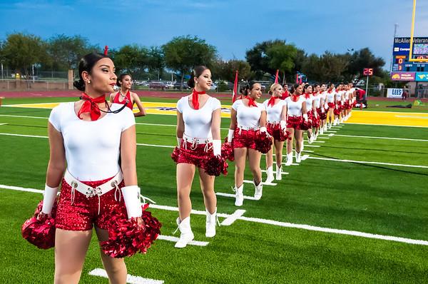 September 25, 2015 - Football - La Joya vs Memorial - Band, Cheer, Dance_LG