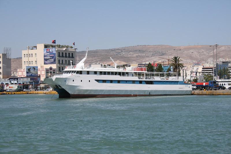 2009 - F/B ILION in Piraeus.