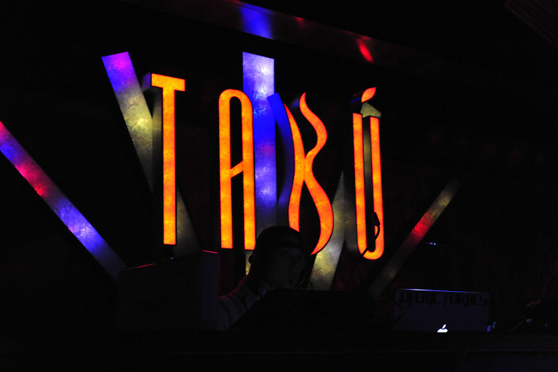 Photographs of fun and mayhem at Tabu Ultra-lounge in MGM Grand Las Vegas as party-goers get the mood on with iS Vodka.