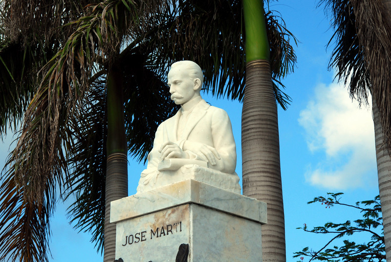 Jose Marti monument in Bayview Park.