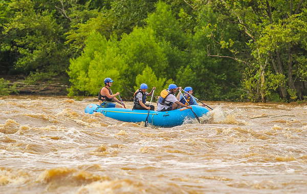 James River/Flood Wall 7-13-13 River City Rafting