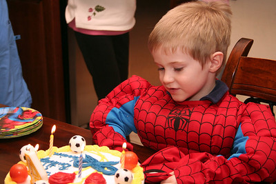 Harrison's 4th Birthday