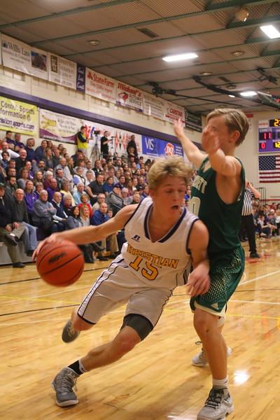 Basketball bva vs. Hackett - KCHS - 1/20/17