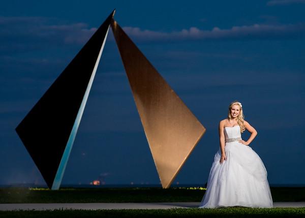 Vinoy Park Downtown St Pete Wedding Bridal Portaits