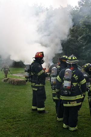 Budd Lake Fire Car Fire Drill 8/12/17