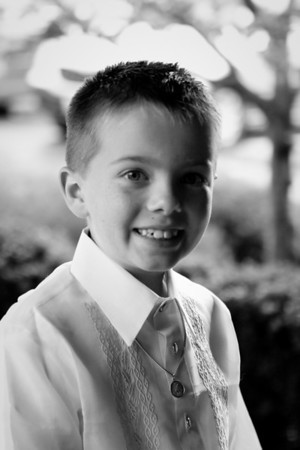 Spencer's First Communion