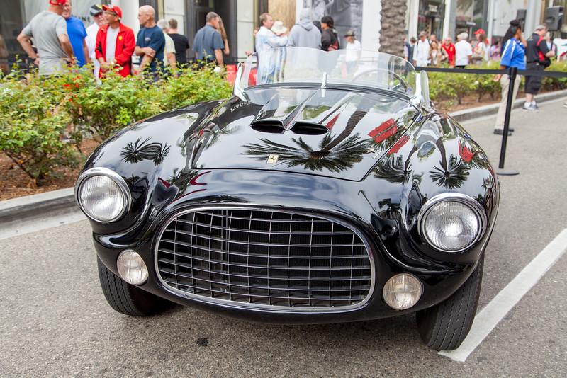 1952 Ferrari 212 Europa Barchetta 0253 EU, presented to the Henry Ford family in 1952
