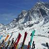 Mt Blanc skis