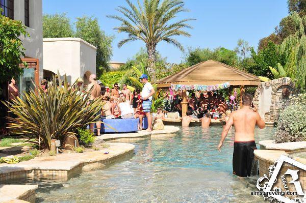 John McEvoy's Birthday Pool Party celebration.