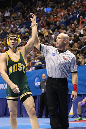 North Dakota State Wrestling at the Nationals