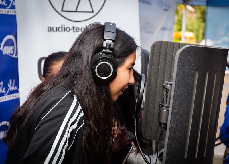 2018, Audio-Technica, Jackson Heights, New York, OWC, Tents