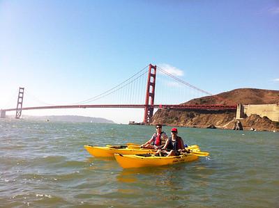 Sausalito Kayaking: Sep 28, 2013