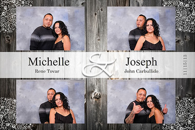 Michelle and Joseph - Wedding Photo Booth