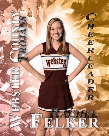 Webster Co Jr High Cheerleaders - 2008
