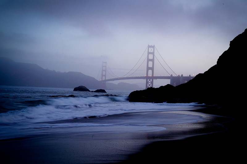 Golden Gate Bridge at Baker Beach