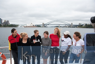 Sydney Harbour Cruise with WTA players