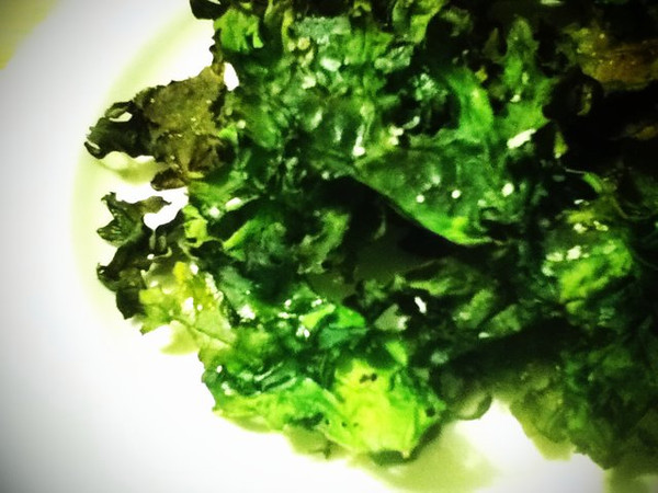 Day 10: Turns out kale chips aren't as good as people promised.