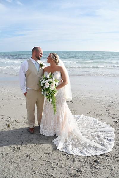 Beautiful destination wedding at Lido Beach Resort, FL