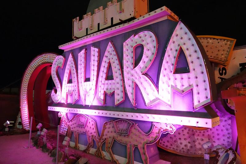 Sahara Hotel, Las Vegas
