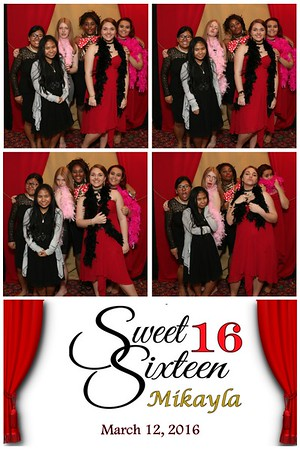 Mikayla's Sweet 16 Party