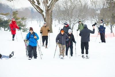 2019 UWL Spring Snowshoeing Class