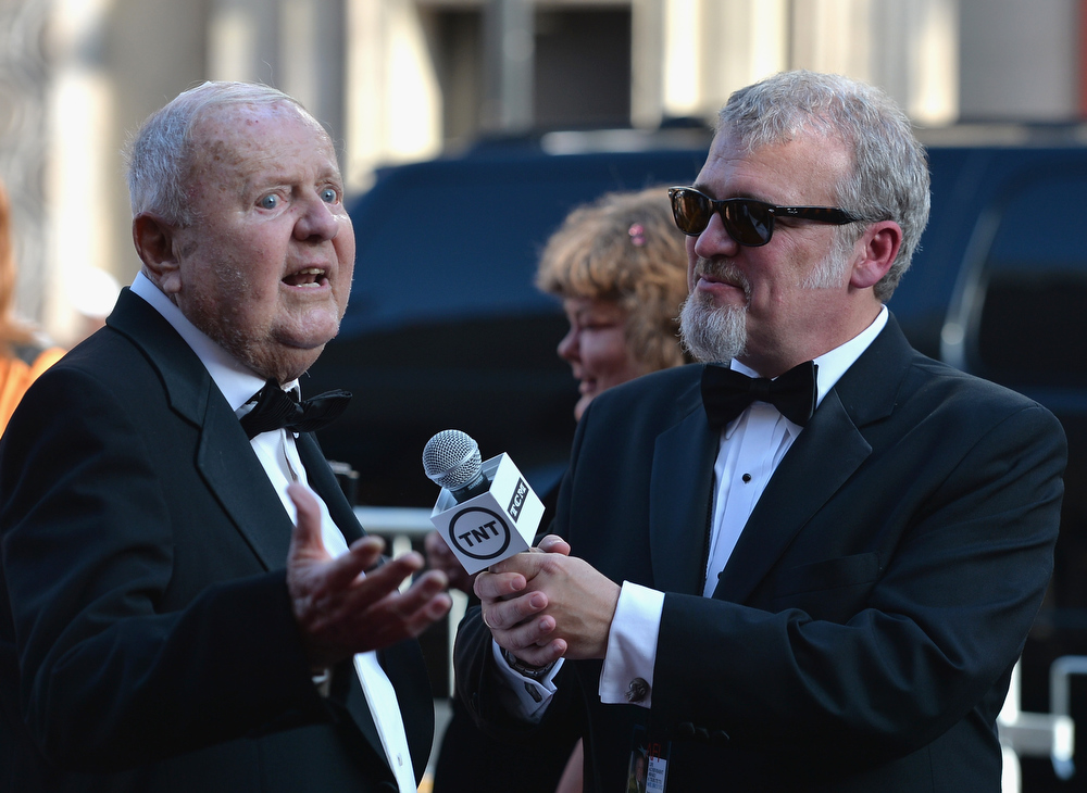 . Actor Dick Van Patten attends the 41st AFI Life Achievement Award Honoring Mel Brooks at Dolby Theatre on June 6, 2013 in Hollywood, California. Special Broadcast will air Saturday, June 15 at 9:00 P.M. ET/PT on TNT and Wednesday, July 24 on TCM as part of an All-Night Tribute to Brooks.  (Photo by Alberto E. Rodriguez/Getty Images for AFI)