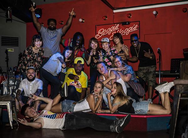 Hip-Hop Performances at Boogie Woogie Seoul, Gyeonglidan, Seoul, Korea, 8/20/2016