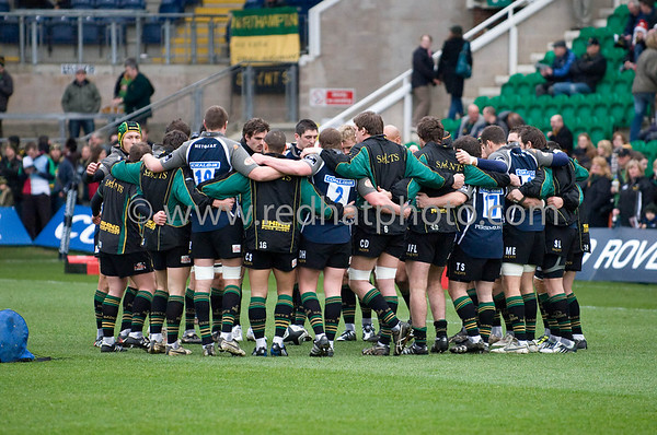 Northampton Saints vs Harlequins, Guinness Premiership, Franklin's Gardens, 20 December 2008
