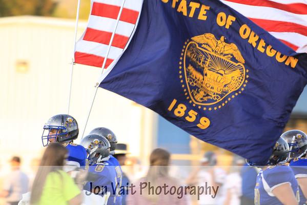 Eagle Point Football 9-05-2014