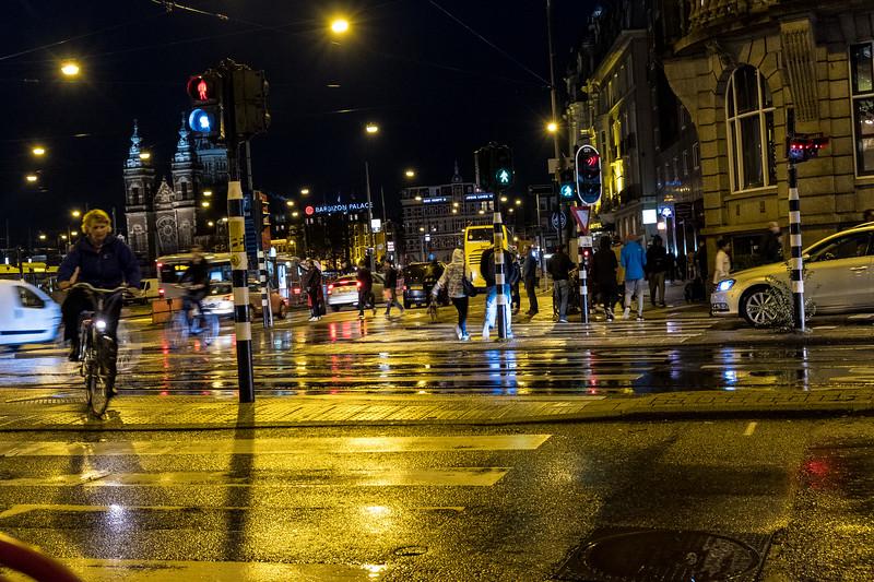 Amsterdam Street Nightlife