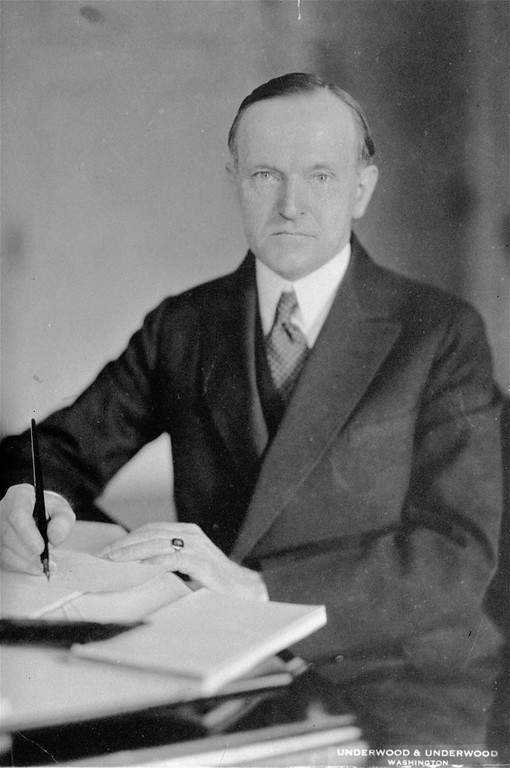 . President Calvin Coolidge, in office 1923 to 1929, is shown in an undated photo. Coolodge died in North Hampton, Mass. January 5, 1933, after declining to run for president in 1928. (AP Photo)