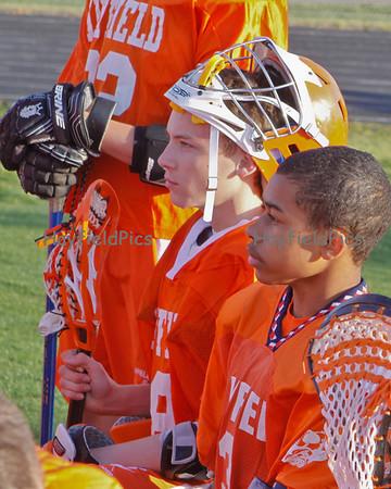 Lacrosse Boys JV West Potomac 3/26/12