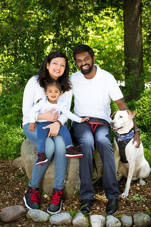 Sneha and Prabhu Family