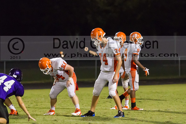 Boone Junior Varsity Football #54 - 2013