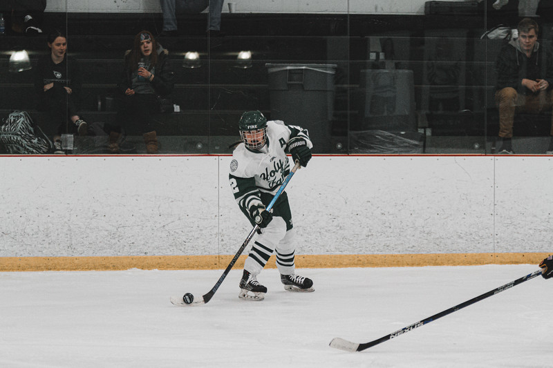Holy Family Varsity Girls Hockey vs. Waconia, 1/9/20: Sydney Paulsen '20 (2)