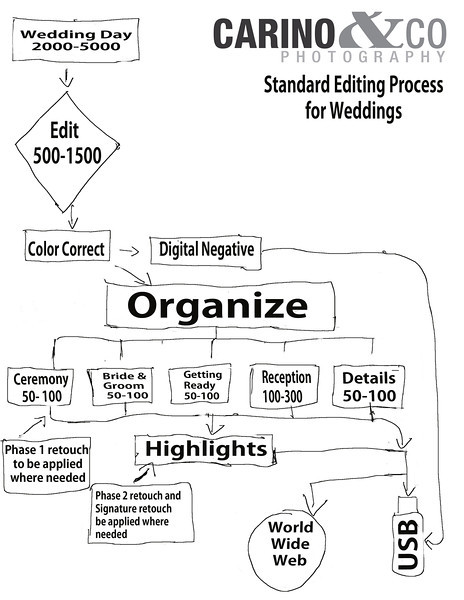 Standard editing process