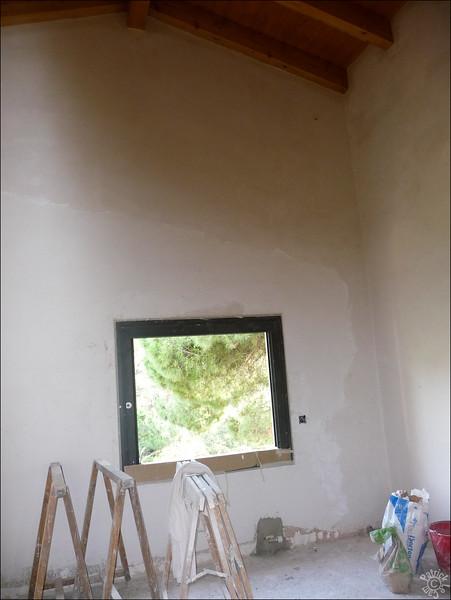 Et voila la nouvelle pièce avec le nouveau toit (ouf!)