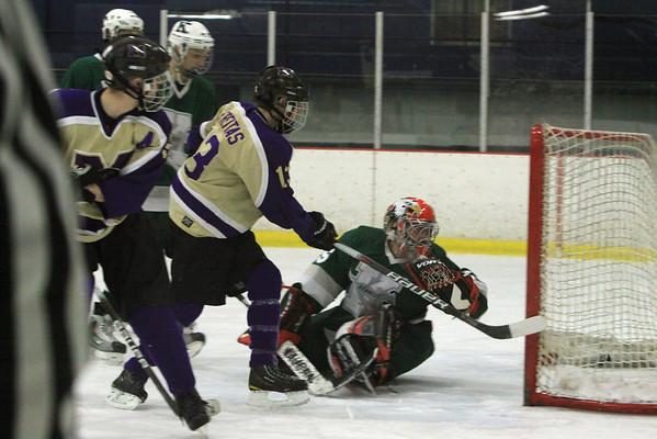 Monroe Hockey Senior Day vs JFK at Wall Arena, Friday, Feb 11th, 2011