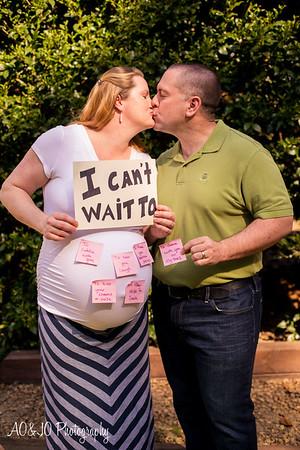 Emily + John Maternity Session
