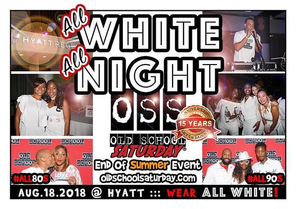 Aug-18-2018 OSS @ Hyatt Regency **** ALL WHITE.  ALL NIGHT. Event **** ::: ATL, GA, USA