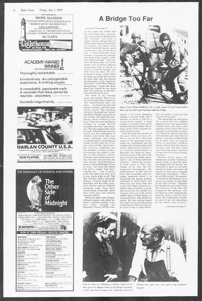 Summer Trojan, Vol. 72, No. 3, July 01, 1977