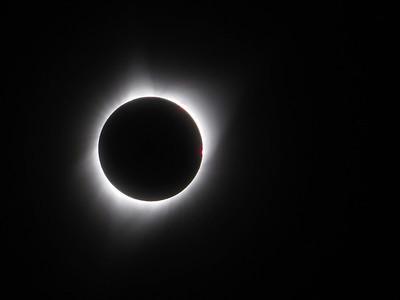 Eclipse, Devils Tower, Black Hills Aug 2017