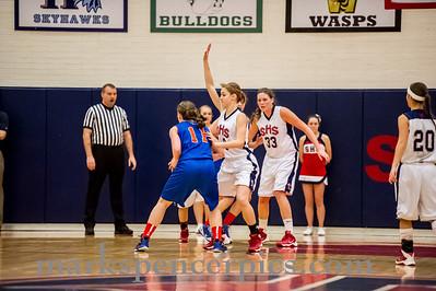 Basketball GSHS vs TView 1-10-2014